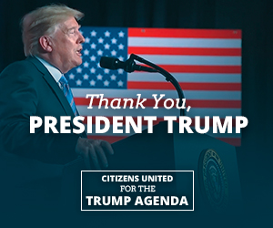 Thank You, President Trump. Citizens United for the Trump Agenda