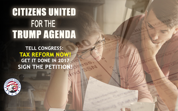 Citizens United for the Trump Agenda - Tax Reform Now